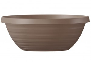 Donica ogrodowa misa Country Star Bowl 40 Scheurich 276/40 Living Taupe
