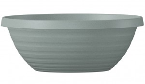 Donica ogrodowa misa Country Star Bowl 40 szara Scheurich Granite Grey 276/40
