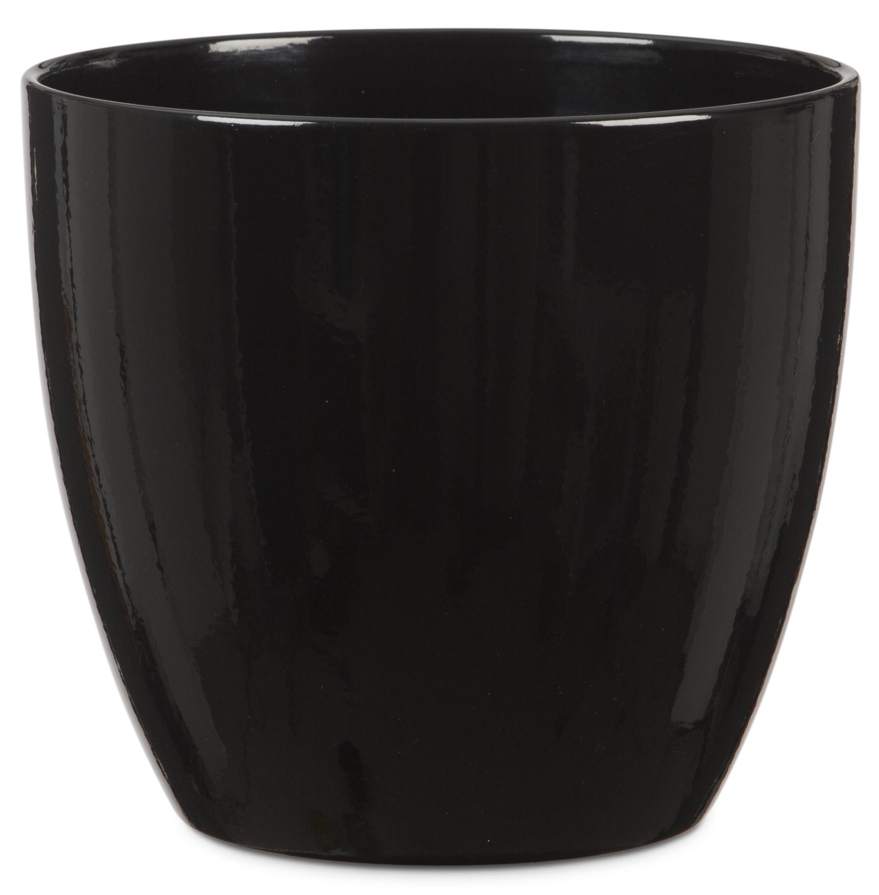 Duża Osłonka Ceramiczna 920 Schwarz Glazed Czarny Połysk 33