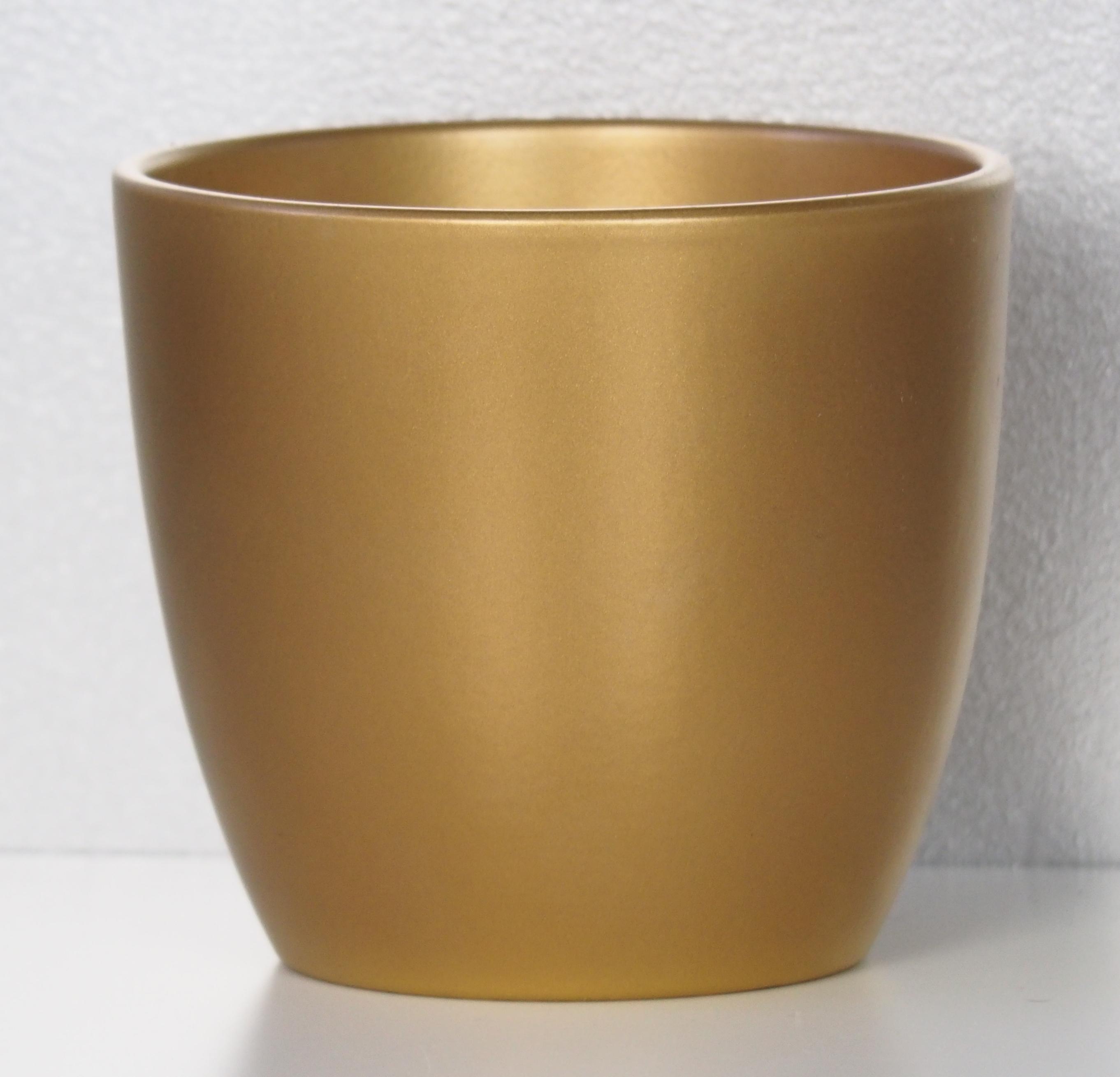 Złota Osłonka Na Doniczkę 920 Gold 19